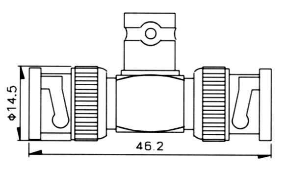 ADAPTOR, ADT-1244T - Aec Connectors Co , Ltd